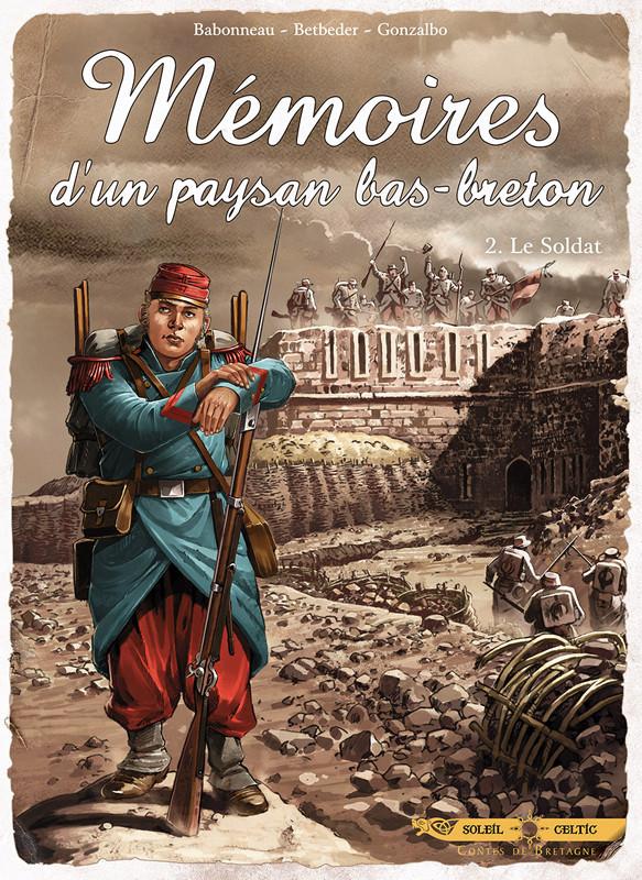 Couverture de Mémoires d'un paysan bas-breton -2- Le soldat