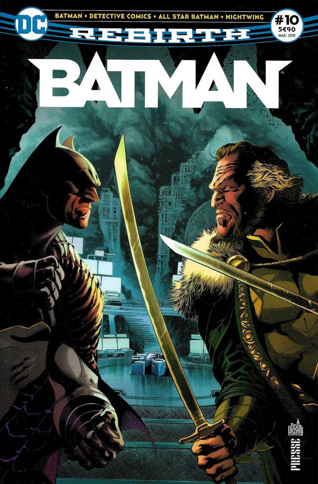 Couverture de Batman Rebirth (DC Presse) -10- Tome 10