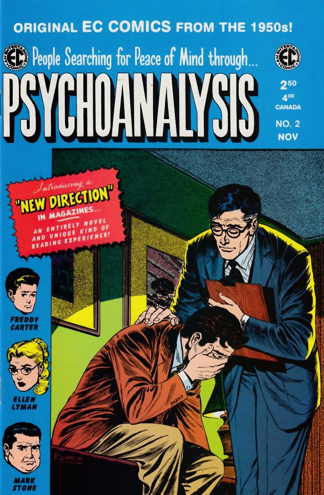 Couverture de Psychoanalysis (1999) -2- Psychoanalysis 2 (1955)