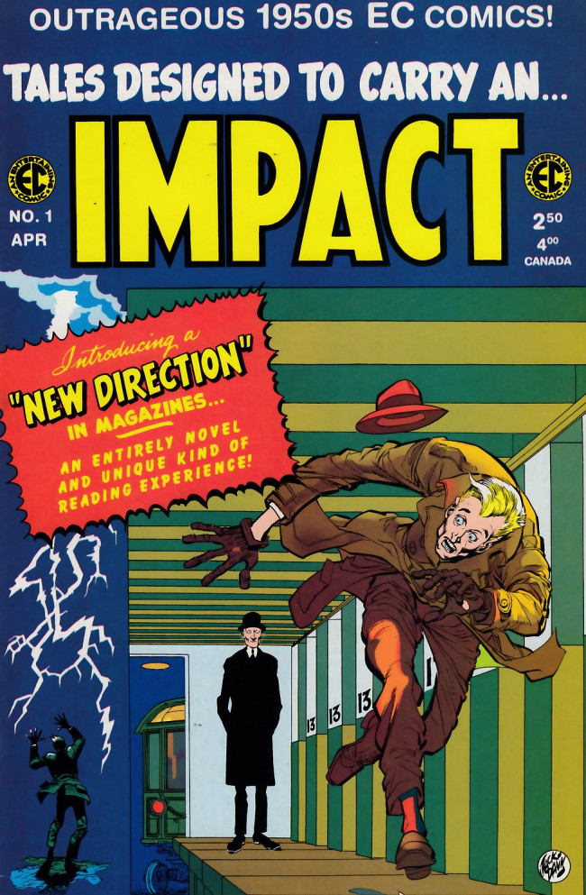 Couverture de Impact (1999) -1- Impact 1 (1955)