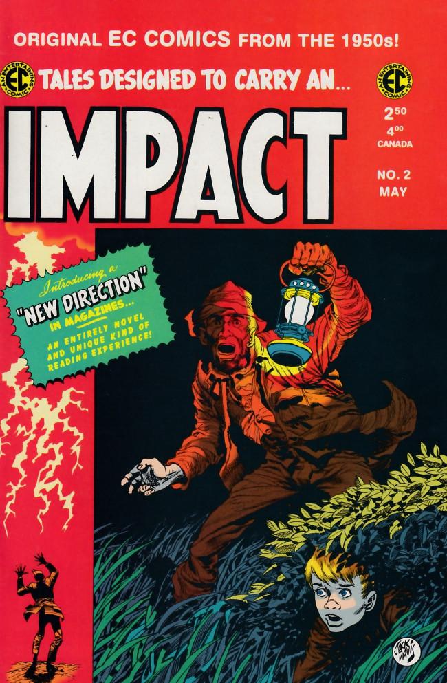 Couverture de Impact (1999) -2- Impact 2 (1955)