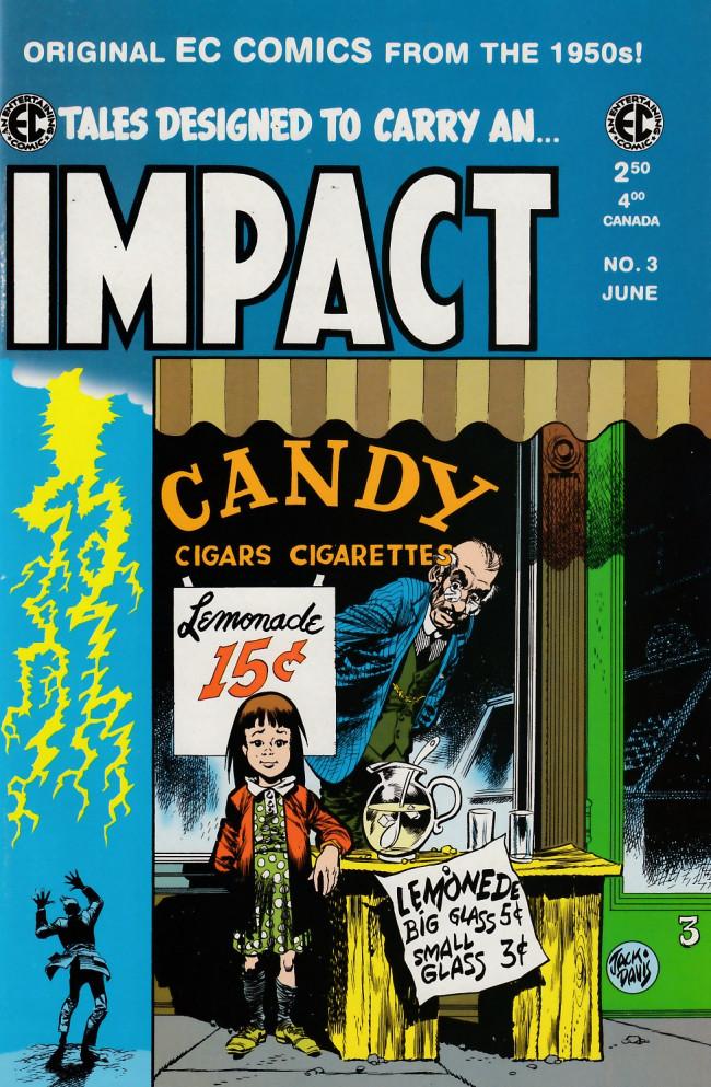 Couverture de Impact (1999) -3- Impact 3 (1955)