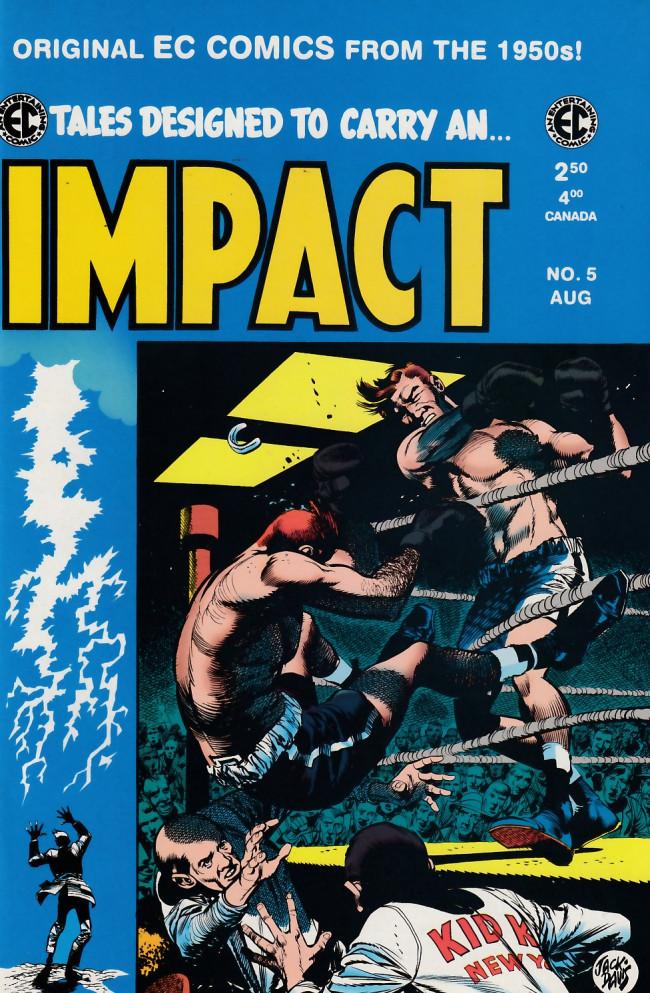 Couverture de Impact (1999) -5- Impact 5 (1955)