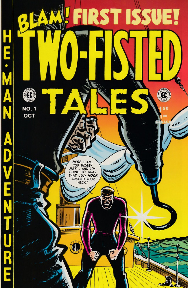 Couverture de Two-Fisted Tales (1992) -1- Two-Fisted Tales 18 (1950)