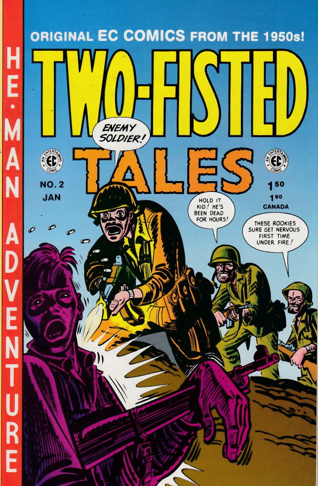 Couverture de Two-Fisted Tales (1992) -2- Two-Fisted Tales 19 (1950)