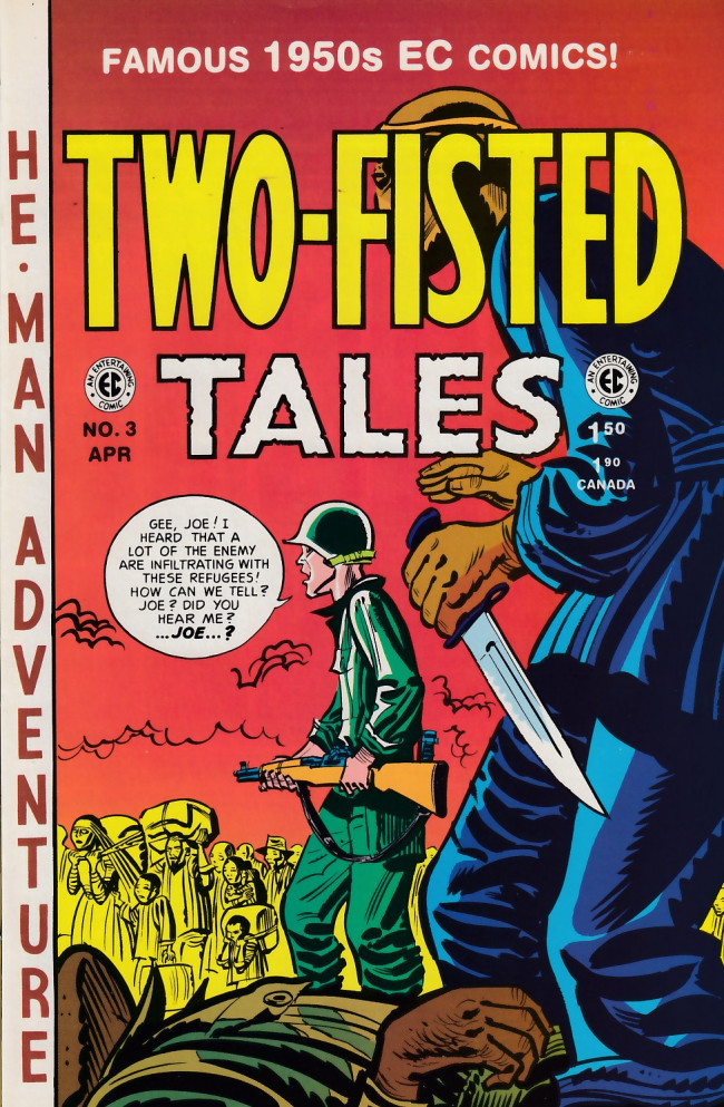 Couverture de Two-Fisted Tales (1992) -3- Two-Fisted Tales 20 (1951)