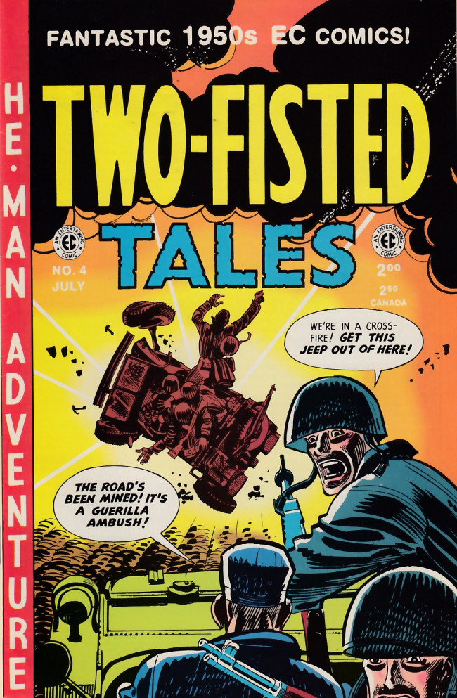 Couverture de Two-Fisted Tales (1992) -4- Two-Fisted Tales 21 (1951)