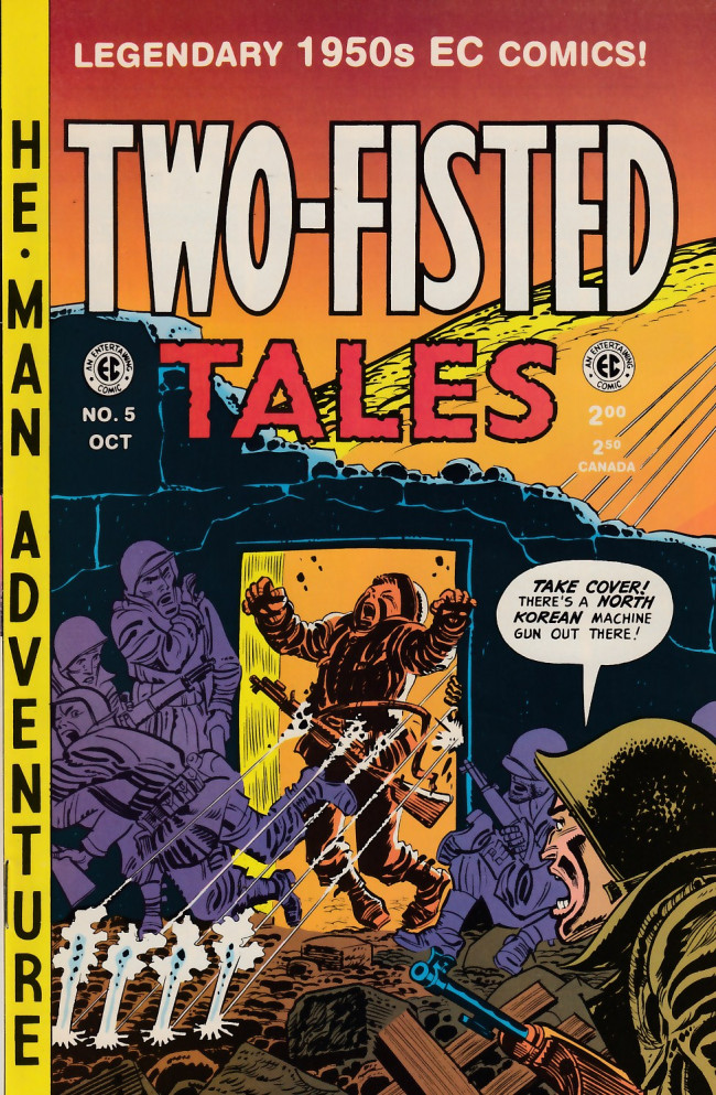 Couverture de Two-Fisted Tales (1992) -5- Two-Fisted Tales 22 (1951)