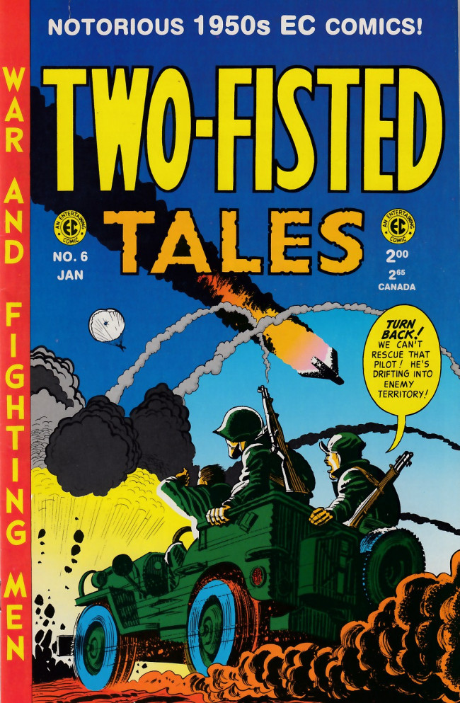 Couverture de Two-Fisted Tales (1992) -6- Two-Fisted Tales 23 (1951)