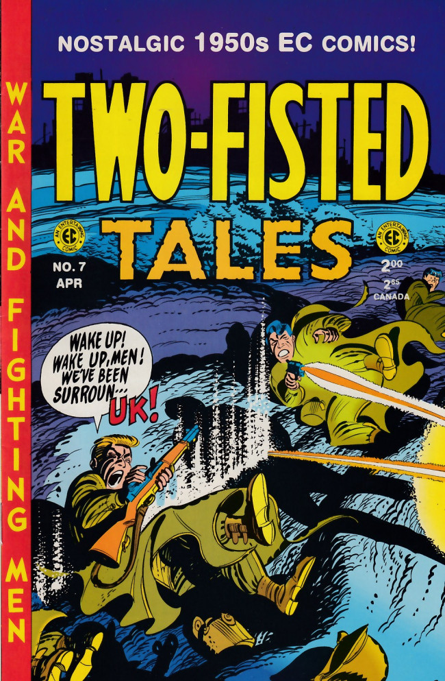 Couverture de Two-Fisted Tales (1992) -7- Two-Fisted Tales 24 (1951)