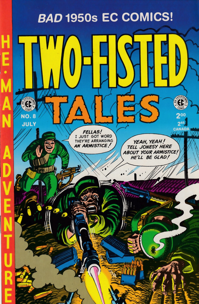 Couverture de Two-Fisted Tales (1992) -8- Two-Fisted Tales 25 (1952)