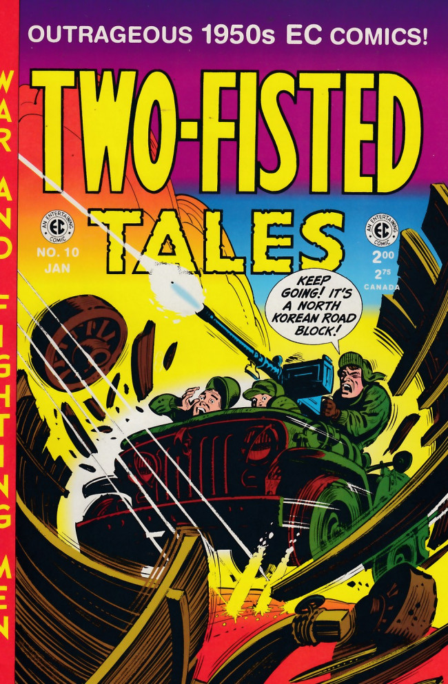 Couverture de Two-Fisted Tales (1992) -10- Two-Fisted Tales 27 (1952)