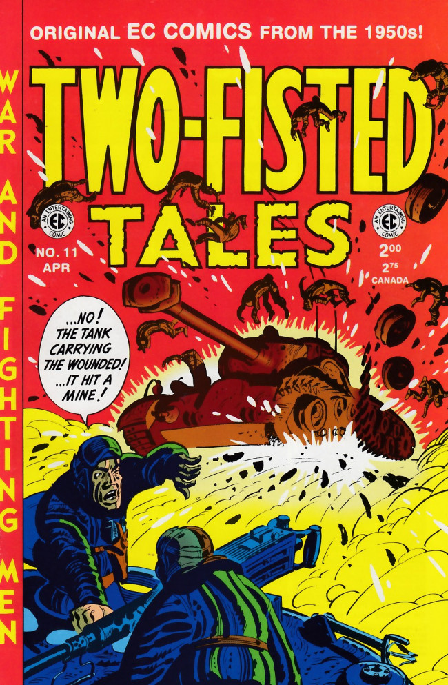 Couverture de Two-Fisted Tales (1992) -11- Two-Fisted Tales 28 (1952)