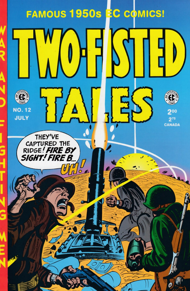 Couverture de Two-Fisted Tales (1992) -12- Two-Fisted Tales 29 (1952)