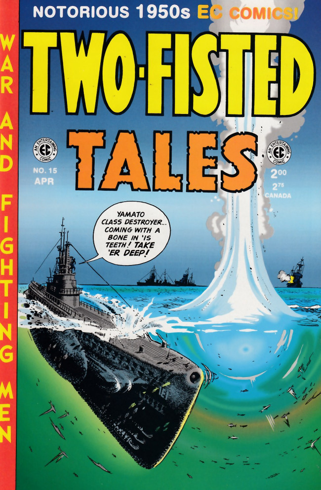 Couverture de Two-Fisted Tales (1992) -15- Two-Fisted Tales 32 (1953)