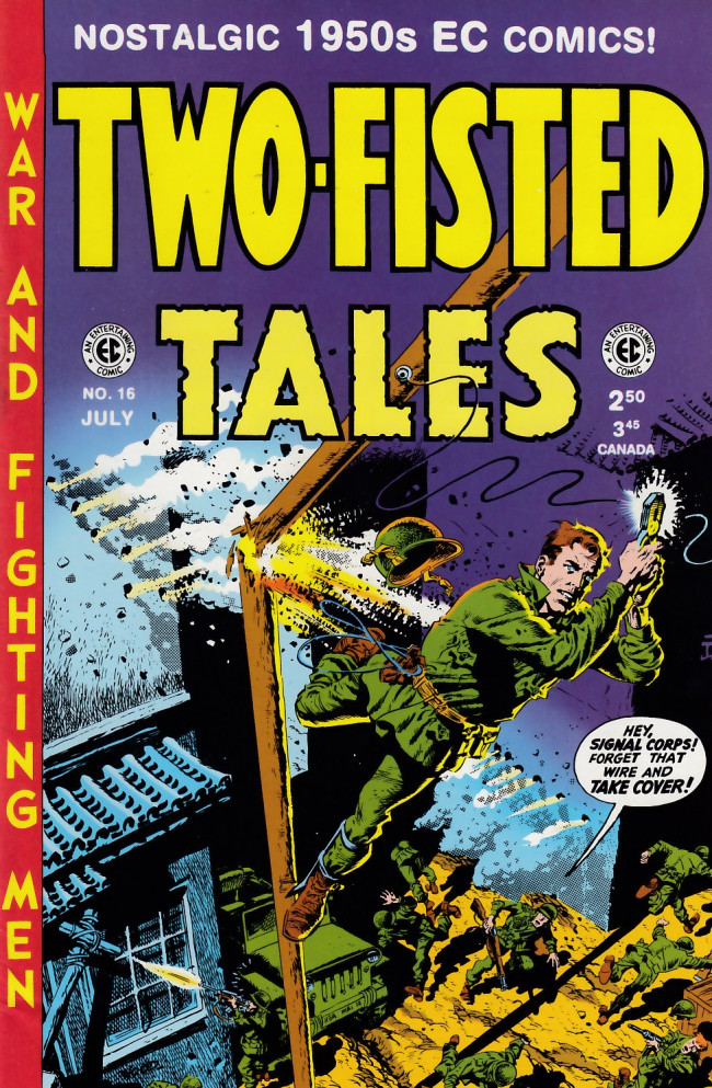 Couverture de Two-Fisted Tales (1992) -16- Two-Fisted Tales 33 (1953)