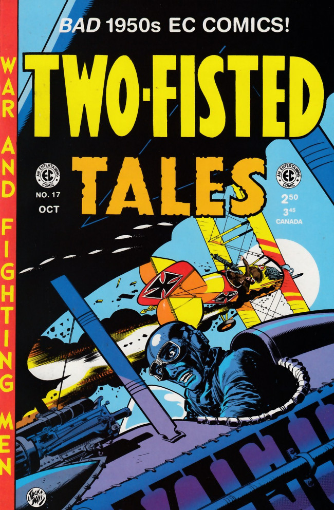Couverture de Two-Fisted Tales (1992) -17- Two-Fisted Tales 34 (1953)