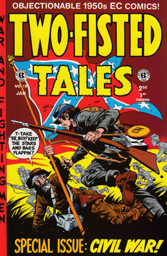 Couverture de Two-Fisted Tales (1992) -18- Two-Fisted Tales 35 (1953)