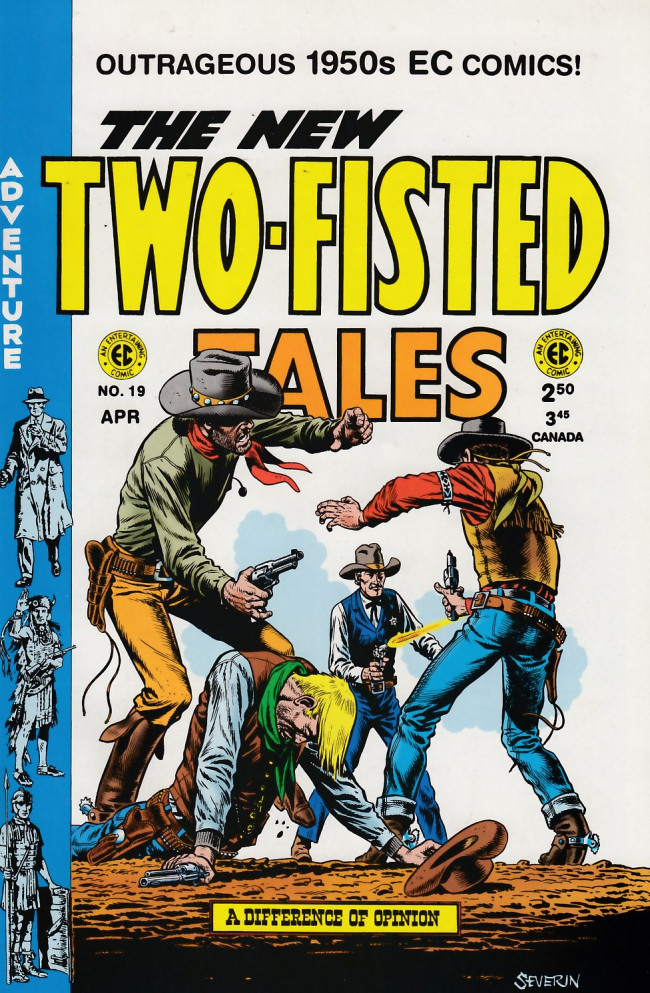 Couverture de Two-Fisted Tales (1992) -19- Two-Fisted Tales 36 (1953)