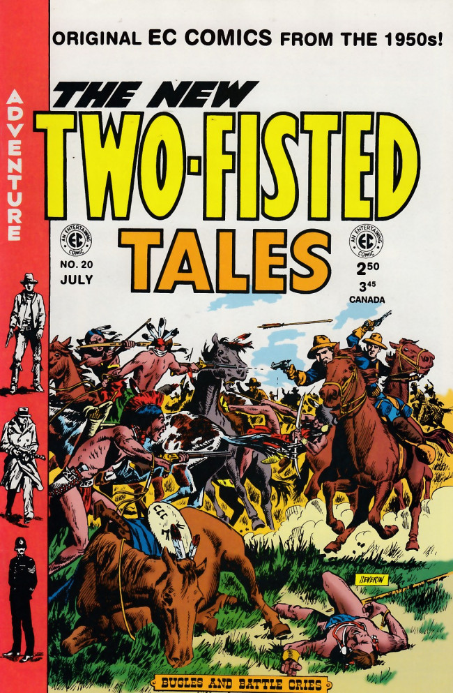 Couverture de Two-Fisted Tales (1992) -20- Two-Fisted Tales 37 (1954)