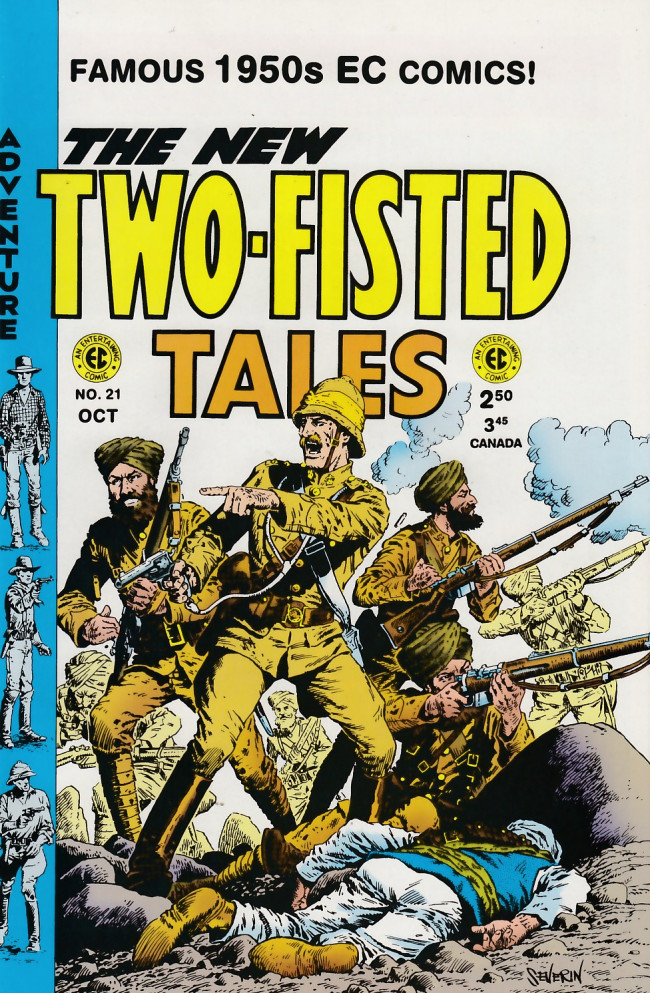Couverture de Two-Fisted Tales (1992) -21- Two-Fisted Tales 38 (1954)