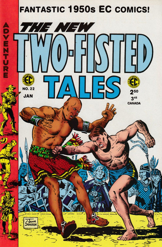 Couverture de Two-Fisted Tales (1992) -22- Two-Fisted Tales 39 (1954)
