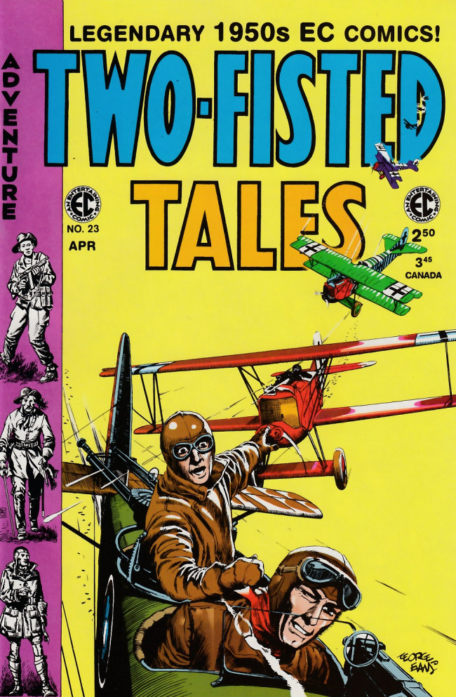 Couverture de Two-Fisted Tales (1992) -23- Two-Fisted Tales 40 (1954)
