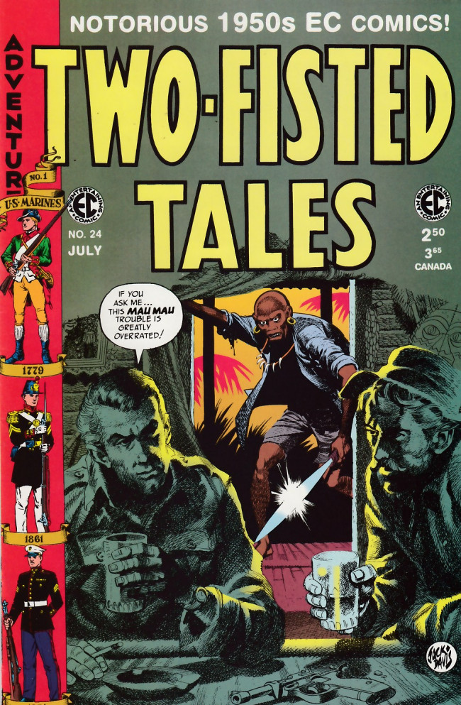 Couverture de Two-Fisted Tales (1992) -24- Two-Fisted Tales 41 (1954)