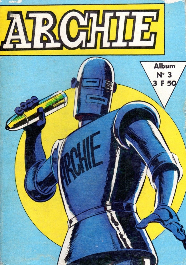 Couverture de Archie (Jeunesse et Vacances) -Rec03- Album N°3 (du n°7 au n°9)
