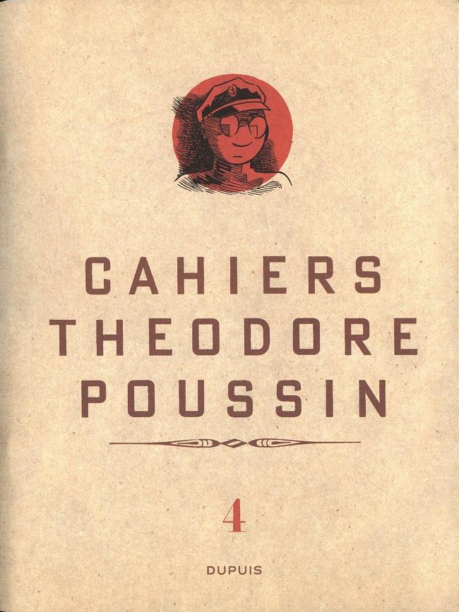 Couverture de Théodore Poussin -Cah04- Cahiers Théodore Poussin 4