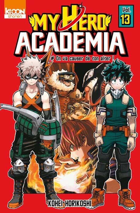 Couverture de My Hero Academia -13- On va causer de ton alter !