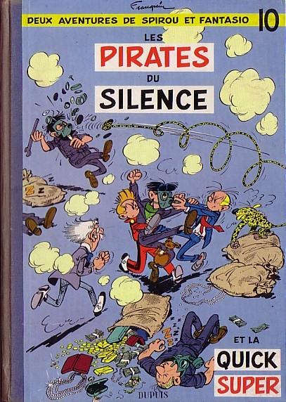 Couverture de Spirou et Fantasio -10- Les pirates du silence