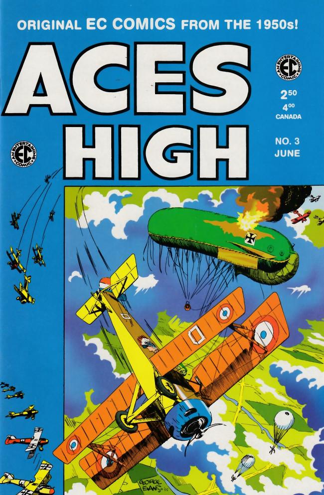 Couverture de Aces High (1999) -3- Aces High 3 (1955)