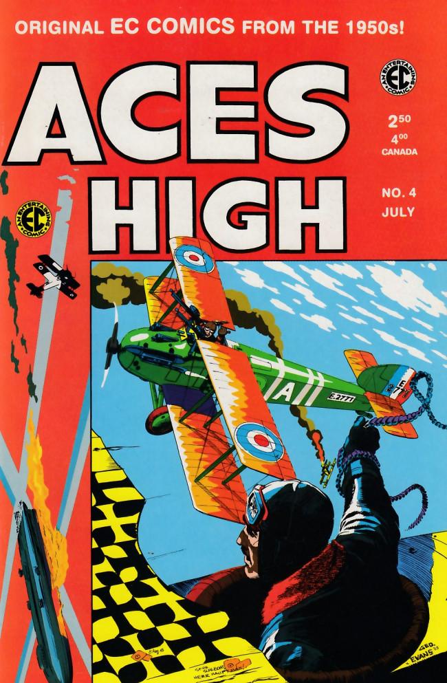 Couverture de Aces High (1999) -4- Aces High 4 (1955)