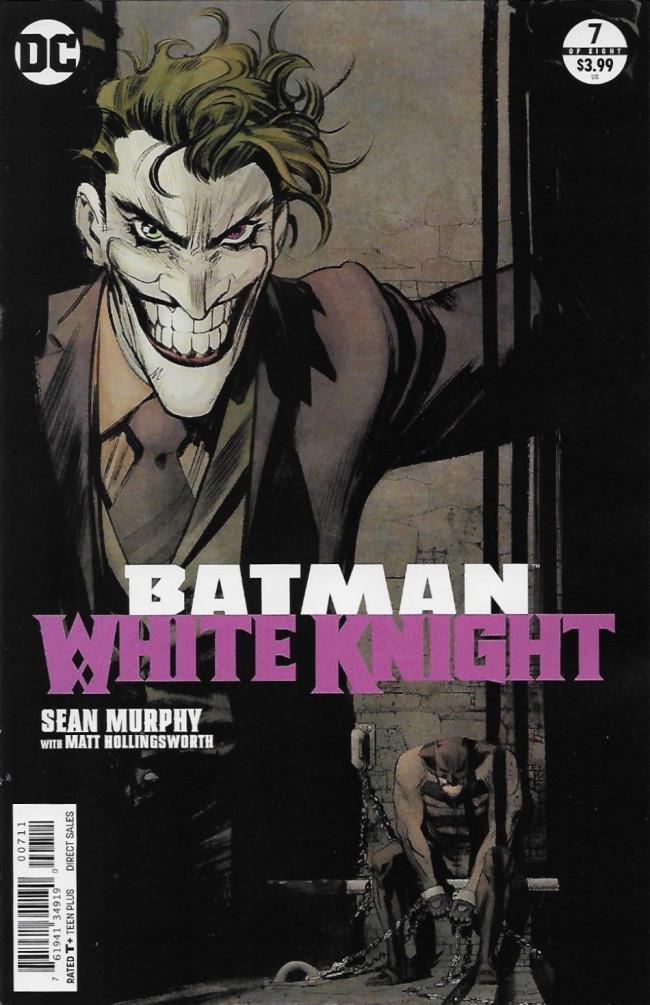 Couverture de Batman: White Knight (2017) -7- Issue 7
