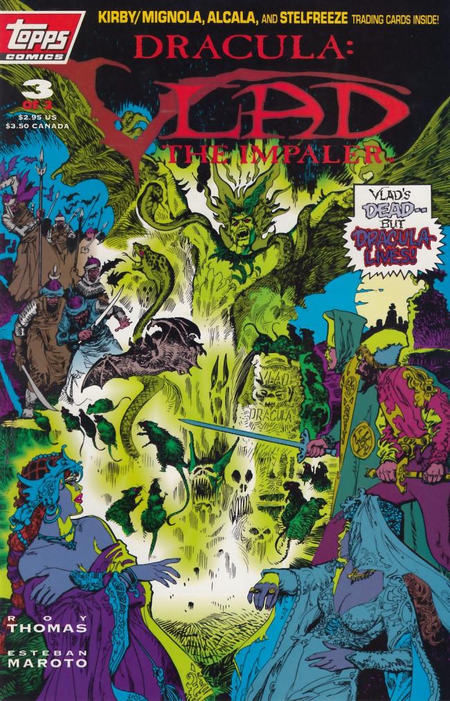 Couverture de Dracula: Vlad the impaler (1993) -3- Dracula: Vlad the impaler #3