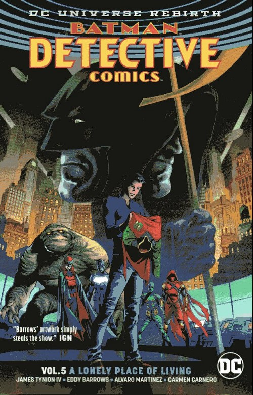 Couverture de Detective Comics (1937), Période Rebirth (2016) -INT05- Vol.5 A lonely Place of Living