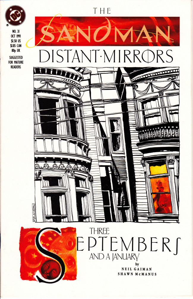 Couverture de Sandman (The) (1989) -31- Three Septembers And A January [Distant Mirrors]