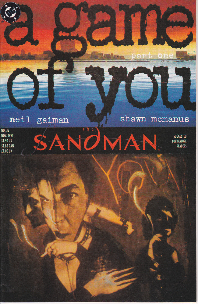 Couverture de Sandman (The) (1989) -32- Slaughter on Fifth Avenue [A Game Of You Part 1]