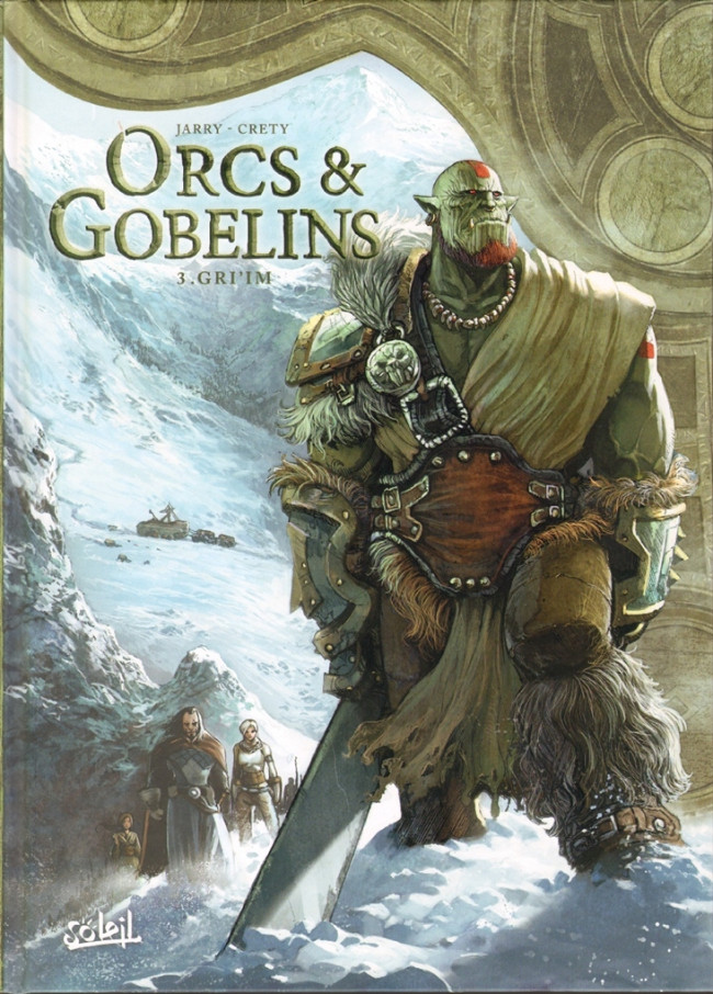 Couverture de Orcs & Gobelins -3- Gri'im