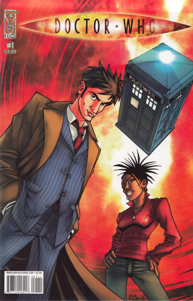 Couverture de Doctor Who (2008) -1- Doctor Who #1