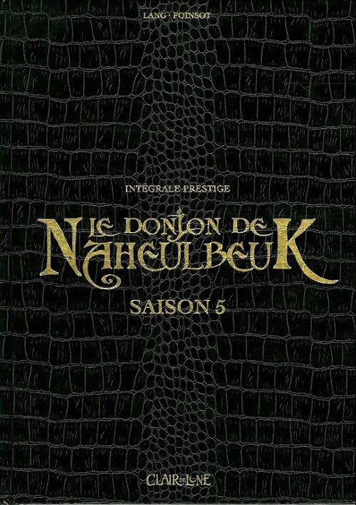 Couverture de Le donjon de Naheulbeuk -INT5- Saison 5