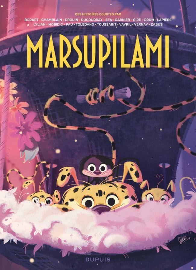 Couverture de Marsupilami - Des histoires courtes par... -2- Tome 2