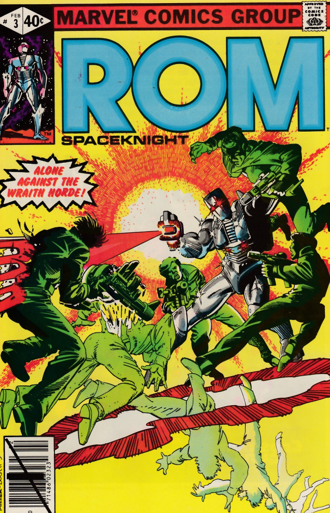 Couverture de Rom (1979) -3- Firefall