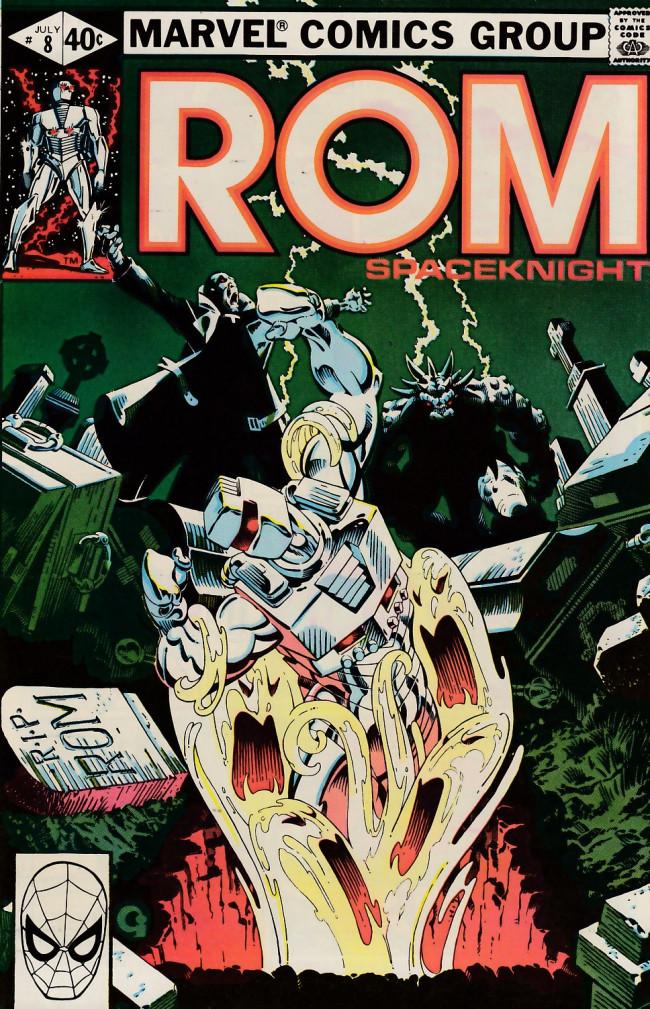 Couverture de Rom (1979) -8- Deathwing