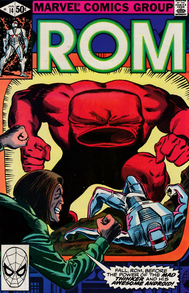 Couverture de Rom (1979) -14- The ultimate android