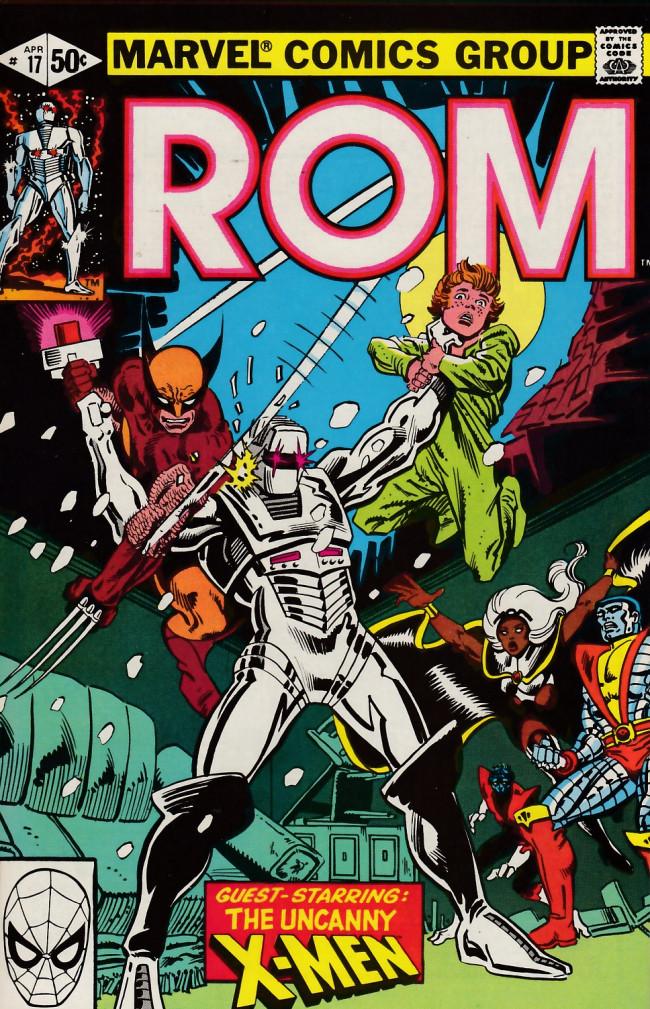 Couverture de Rom (1979) -17- Hybrid!