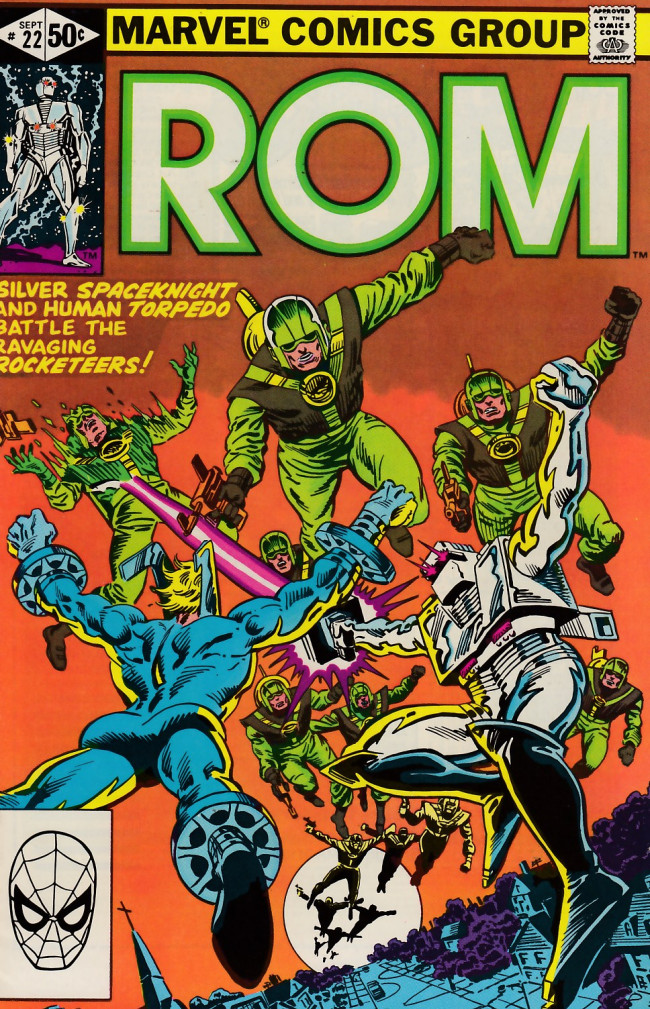 Couverture de Rom (1979) -22- Great rocketeers revival