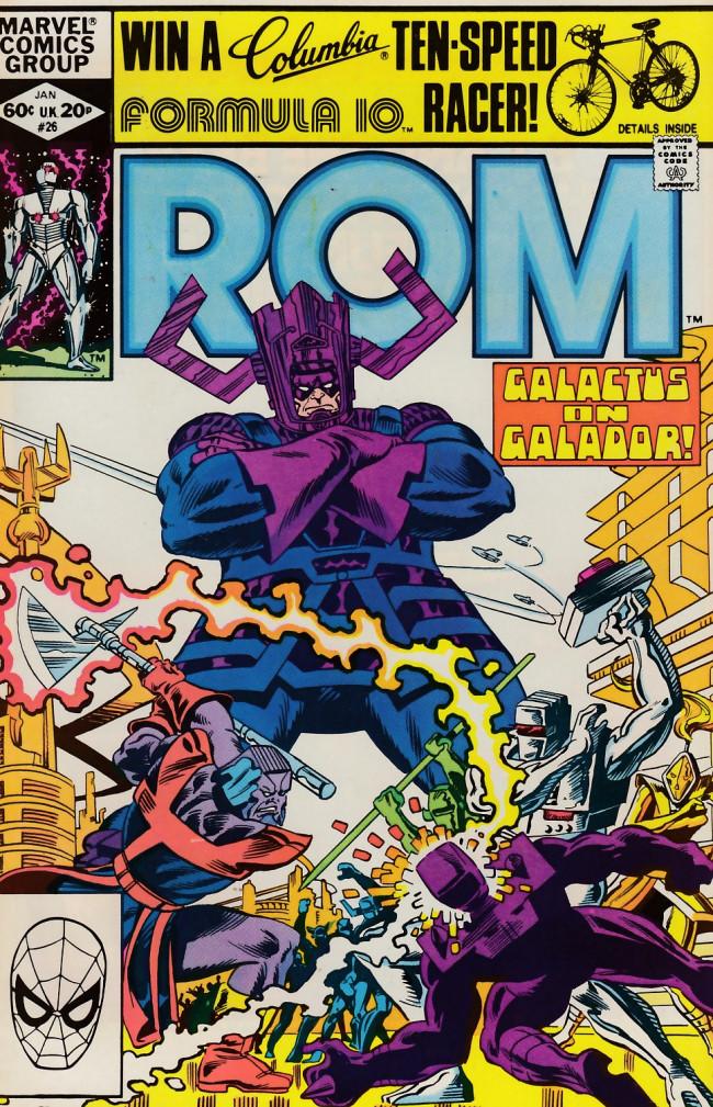 Couverture de Rom (1979) -26- Galactus