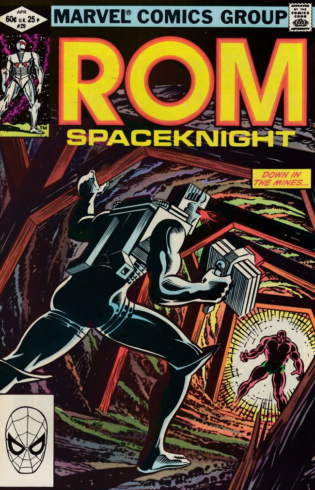 Couverture de Rom (1979) -29- Even a spaceknight can cry